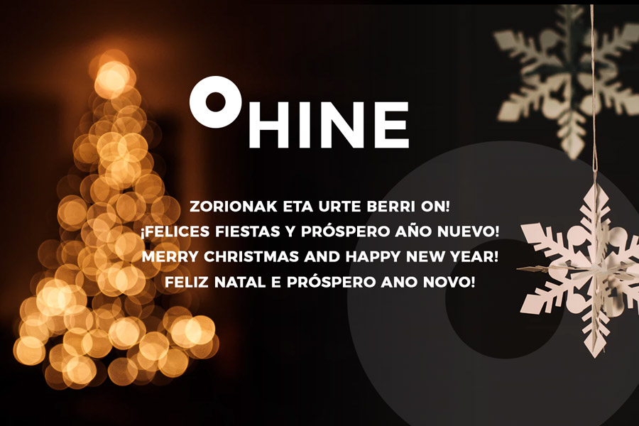 Zorionak eta urte berri on, felizes fiestas y próspero año nuevo, merry christmas and happy new year, feliz natal e próspero ano novo